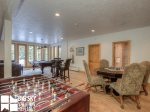Moonlight Basin Lodge, Timber Lodge, Downstairs Living Game Room, 3