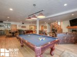 Moonlight Basin Lodge, Timber Lodge, Downstairs Living Game Room, 6