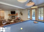 Moonlight Basin Lodge, Timber Lodge, Downstairs Living Game Room, 8
