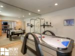 Moonlight Basin Lodge, Timber Lodge, Downstairs Living Game Room, 9