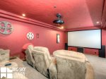 Moonlight Basin Lodge, Timber Lodge, Downstairs Theater Room, 2
