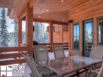 Moonlight Basin Lodge, Timber Lodge, Deck, 2