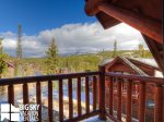 Big Sky Resort, Powder Ridge Rosebud 24, Bedroom 3 Deck View, 1