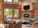 Big Sky Resort, Powder Ridge Rosebud 24, Living, 2