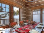 Big Sky Rentals By Owner, Powder Ridge Manitou 19, Dining, 2