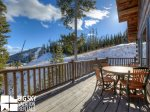 Big Sky Rentals By Owner, Powder Ridge Manitou 19, Deck, 1