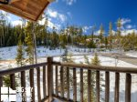 Big Sky Rentals By Owner, Powder Ridge Manitou 19, Upstairs Deck, 1