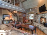 Big Sky Rentals By Owner, Powder Ridge Manitou 19, Living, 3