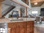 Big Sky Resort Rentals, Homestead Chalet 5, Kitchen, 5