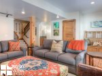Big Sky Resort Rentals, Homestead Chalet 5, Downstairs Den, 1
