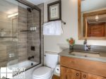 Big Sky Resort Rentals, Homestead Chalet 5, Guest Bathroom- Den