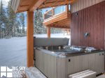 Big Sky Resort Rentals, Homestead Chalet 5, Private Hot Tub, 1