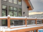 Big Sky Resort Rentals, Homestead Chalet 5, Deck, 1