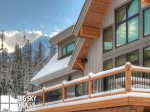 Big Sky Resort Rentals, Homestead Chalet 5, Deck, 2
