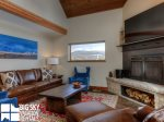 Big Sky Resort Rentals, Homestead Chalet 5, Living, 2