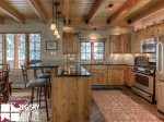 Big Sky Resort, Moonlight Mountain Home 4 Shadow Ridge, Kitchen, 2