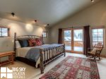 Big Sky Resort, Moonlight Mountain Home 4 Shadow Ridge, Bedroom 1, 2