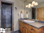 Big Sky Resort, Moonlight Mountain Home 4 Shadow Ridge, Bedroom 2 Bathroom, 2