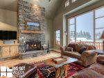 Big Sky Resort, Moonlight Mountain Home 4 Shadow Ridge, Living, 2