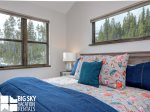 Big Sky House Rentals, Homestead Chalet 16 Claim Jumper, Bedroom 3, 2