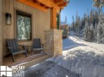 Big Sky Resort MT, Homestead Chalet 10 Claim Jumper, Deck, 3