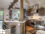 Big Sky Lodging Ski In Ski Out, Homestead Chalet 14 Claim Jumper, Kitchen, 3