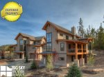 Big Sky Lodging Ski In Ski Out, Homestead Chalet 14 Claim Jumper, Living, 1