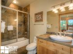 Big Sky Montana Lodges, Black Eagle Lodge 10, Bedroom 2 Bathroom, 1