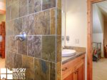 Big Sky Montana Lodges, Black Eagle Lodge 10, Loft Bathroom, 1