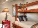 Big Sky Montana Lodges, Black Eagle Lodge 10, Bedroom 3, 1