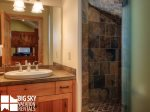 Big Sky Montana Lodges, Black Eagle Lodge 10, Bedroom 3 Bathroom, 1