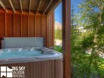Big Sky Montana Lodges, Black Eagle Lodge 10, Private Hot Tub, 1