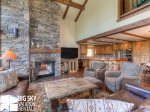 Big Sky Montana Lodges, Black Eagle Lodge 10, Living, 2