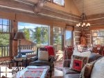 Powder Ridge Cabins, Manitou 18, Living, 6