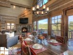 Powder Ridge Cabins, Manitou 18, Dining, 1
