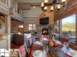 Powder Ridge Cabins, Manitou 18, Dining, 2