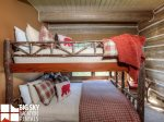 Powder Ridge Cabins, Manitou 18, Bedroom 2, 1