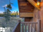 Powder Ridge Cabins, Manitou 18, Bedroom 3 Deck View, 1