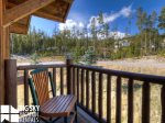 Powder Ridge Cabins, Manitou 18, Bedroom 3 Deck View, 2