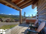 Powder Ridge Cabins, Manitou 18, Deck, 1