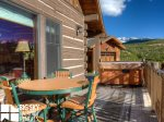 Powder Ridge Cabins, Manitou 18, Deck, 2