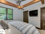 Big Sky MT Resort, Homestead Chalet 12 Claim Jumper, Master Bedroom, 2