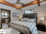 Big Sky MT Resort, Homestead Chalet 12 Claim Jumper, Master Bedroom, 3