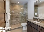 Big Sky MT Resort, Homestead Chalet 12 Claim Jumper, Upstairs Bathroom 1, 1