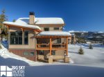 Big Sky MT Resort, Homestead Chalet 12 Claim Jumper, Community View