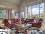 Moonlight Basin Luxury Rental, Mountain Home 4, Living, 1