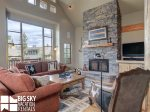 Moonlight Basin Luxury Rental, Mountain Home 4, Living, 2
