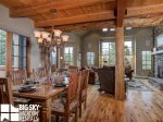 Moonlight Basin Luxury Rental, Mountain Home 4, Dining, 1
