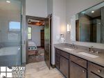 Big Sky Resort, Homestead Chalet 6, Master Bath, 3