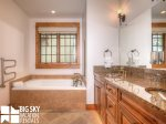Luxury Suite 6C, Master Bathroom, 2